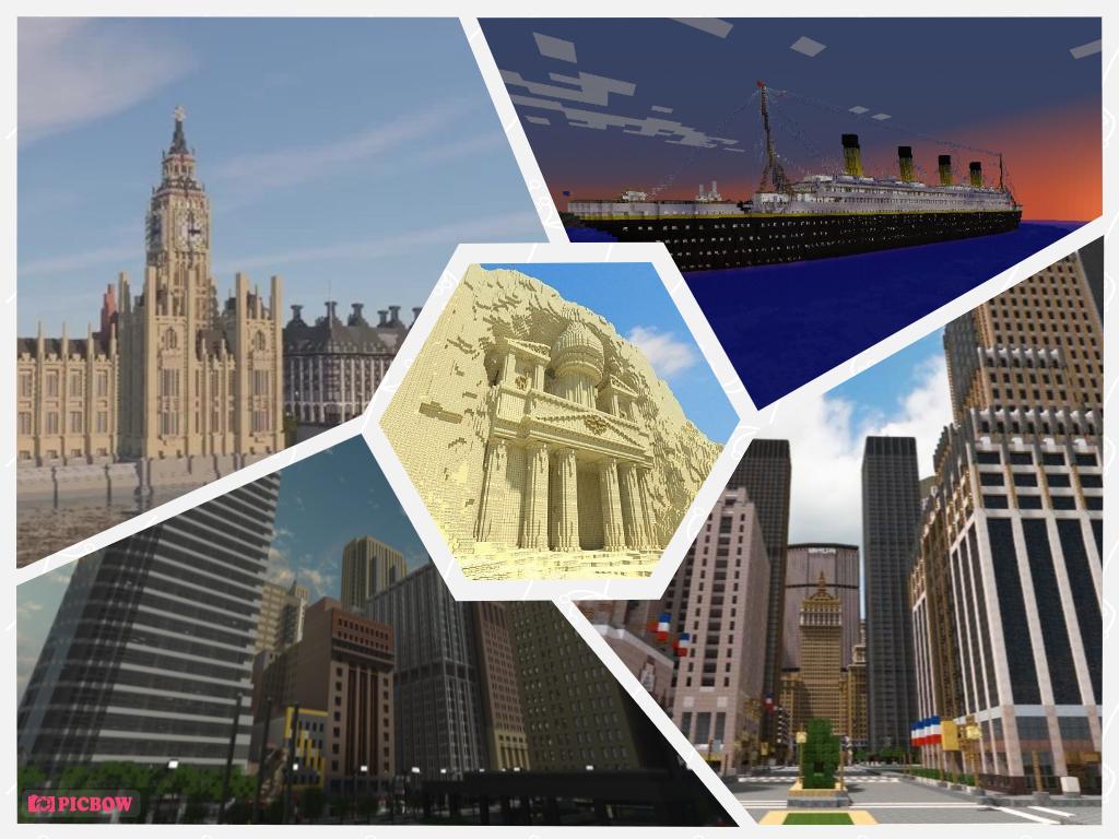 Minecraft: 5 địa điểm được tái hiện hoành tráng, kỳ công từ đời thực