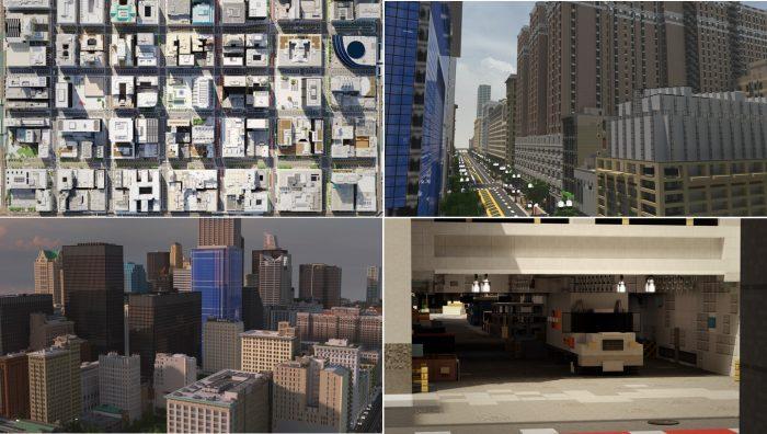 Minecraft 5 dia diem duoc tai hien hoanh trang va dep nhat tu doi thuc The Loop Chicago Game Cuối