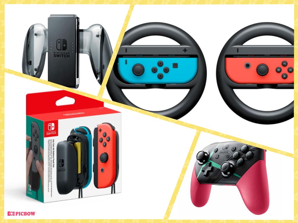 Nintendo Switch: 7 món phụ kiện chính thức tốt nhất cho máy