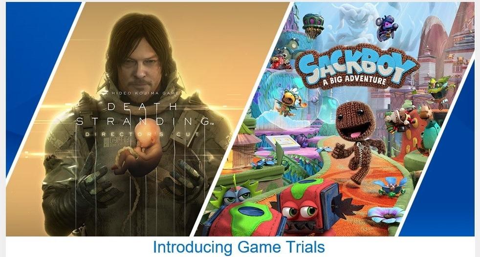 Sony chính thức giới thiệu Game Trials trên PS5, cho thử game miễn phí