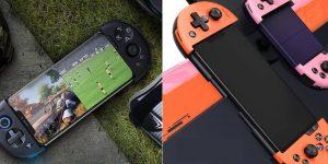 Flydigi Wee 2T: Tay cầm chơi game di động, kiêm luôn cả thiết bị kết nối chuột bàn phím cho Liên quân, Pubg Mobile, PES Mobile…
