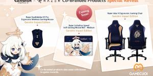 Genshin Impact kết hợp cùng Razer ra mắt loạt gaming gear xịn sò nhân dịp kỷ niệm 1 năm ra mắt