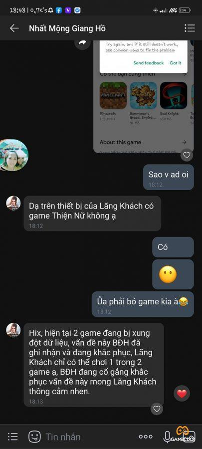 nhat mong giang ho loi 1 Game Cuối